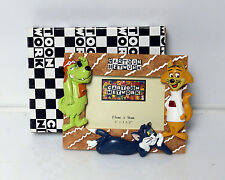 Cartoon network Picture Frame Sylvester Cat and Dog  VERY RARE
