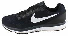 Nike Men's Air Zoom Pegasus 34 - Black/White-Dark Grey (880555-001)