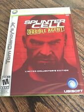 Splinter Cell Double Agent Collector's Edition Xbox 360 Cib Game XG3