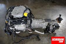 NISSAN 350Z ENGINE V6 3.5L MOTOR W/ 6 SPEED TRANSMISSION - 2003 2004 2005 VQ35DE