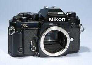 Nikon FA 35mm SLR Film Camera * Read