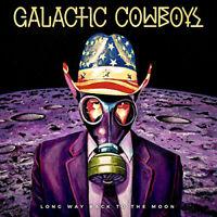 "Galactic Cowboys : Long Way Back to the Moon Vinyl 12"" Album 2 discs (2017)"