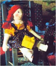 "Country Cousin 18"" Tall Rag Doll Sewing Pattern S10130 (NOT FINISHED ITEM)"