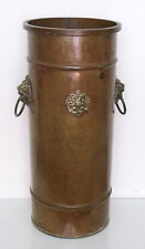 IMPERIAL RUSSIAN BRASS UMBRELLA/WALKING STICKS STAND marked MOSCOW similar $750