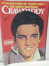 Crawdaddy Magazine November 1977 Elvis Presley Stereo Wars Bob Seger