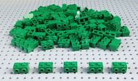 Lego Green 1x2 Brick with 2 Studs (11211) x10 in a set BRAND NEW City Star Wars