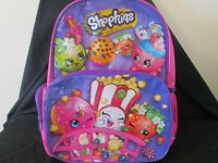 SHOPKINS BACKPACK - Kinder / School BRAND NEW WITH TAG - Hard To Find!