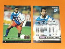 KADER FERHAOUI SC MONTPELLIER PAILLADE MOSSON FOOTBALL CARD PANINI 1996-1997