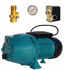 """IBO 1""""JET100A Booster Water Pump house,garden1.1kW +vessel expansion control kit"""