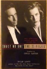 Trust No One The Official Third Season Guide to The X-Files Softcover by B Lowry