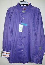 Robert Graham Shirt: XL  (NWT) Button-Front Flip Cuff