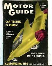 Motor Guide Magazine October 1956 1957 Engines VG 060117nonjhe