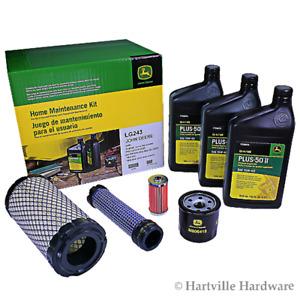 John Deere Original Equipment Home Maintenance Kit #LG243