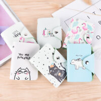 1pc Cartoon Business Card Holder Cards Wallet Credit Card Holder ID Card Case