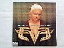 Eve Ruff Riders' First Lady 1999 Masterdisk Tony Dawsey Press 2 LPs w/ Insert NM