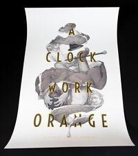 A Clockwork Orange by Wylie Beckert - Mondo Variant Edition Screen Print Poster