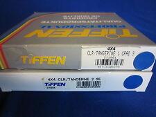 TIFFEN  4X4  FILTER   TANGERINE  GRAD SE  1, 2  (LOT OF 2)