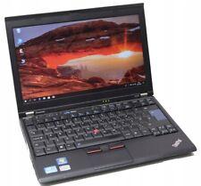 Lenovo X220 12.5'' Core i5-2520M Max 3.3 Ghz 4GB 120GB SSD Win 7  Pro WebCam