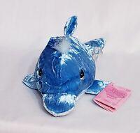 Vintage 1999 Precious Moments Tender Tails Dolphin Plush Stuffed Animal Beanie