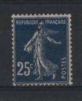 "FRANCE STAMP TIMBRE YVERT N° 140 b "" SEMEUSE 25c BLEU NOIR "" NEUF xx LUXE  R745"