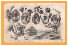 LANGAGE des PRENOMS / MARIE SUZANNE LOUISE LUCIE JEANNE BLANCHE en 1913