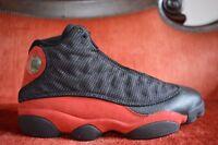 CLEAN Nike Air Jordan 13 XIII Retro Bred 2013 414571 010 Size 9.5 OG ALL Black