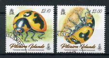 Pitcairn Islands 2017 CTO Transverse Ladybird 2v Set Ladybirds Beetles Stamps