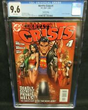 Identity Crisis #1 (2004) 4th Printing Turner Cover CGC 9.6 White Pages CW490