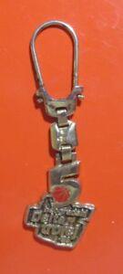 Vintage Keychain Beogradski Delta Trofej 1998 Basketball 5 Keyring