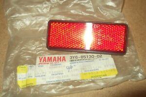 YAMAHA RD350  YPVS  DT125  GENUINE NOS REAR REFLECTOR - # 3Y6-85130-02