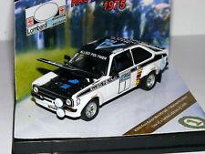 Vitesse 42350 Ford Escort RS1800 Winner 1975 Lombard RAC Rally #1 LTD ED 1/43