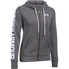 Under Armour Favourite Full Zip Ladies Hoody - Grey M 1302361 090-m