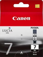 Canon Druckerpatrone original Tinte PGI-7 BK black, schwarz