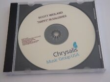 Scott Weiland Happy In Galoshes 13 Track Advance Promo CD Stone Temple Pilots