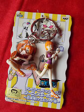 "NEW! ONE PIECE NAMI Twin Keyring / 2.4""  6cm VINYL FIGURE / UK DESPATCH"