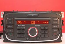 FORD 6000 CD CAR RADIO CD PLAYER MK4 MONDEO FOCUS TRANSIT CONNECT S MAX GALAXY