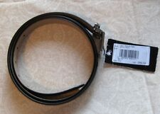 Emporio Armani Men Genuine Leather Black Belt Size 42-46