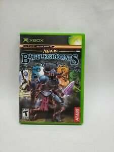 Magic the Gathering: Battlegrounds (Microsoft Xbox, 2003) COMPLETE CIB