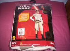 Star Wars: The Force Awakens REY Child Costume Size Large