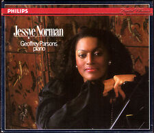 Jessye Norman European Tour 1987 Haydn Arianna a Naxos CD commercio Mahler Strauss