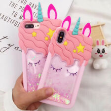 3D Cartoon Unicorn Soft Silicone Case For iPhone 5 6 7 8 11 Pro Max Samsung A20
