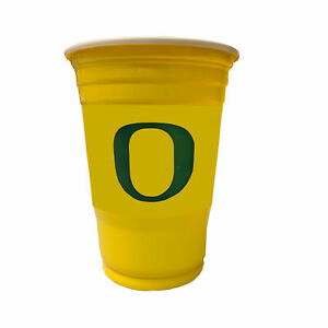 18 Game Day Football Oregon Ducks NCAA Plastic Cups officially Licensed 18 oz