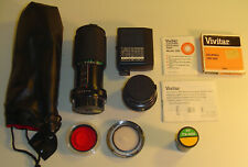 (2) Lenses (70-210mm Zoom + 50mm) Plus Accessories For A Pentax K1000 Camera