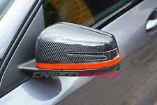 Mercedes Benz A45 CLA45 AMG A250 A200 C63 E63 CLS63 Fibra de Fibra de Carbono Espejos