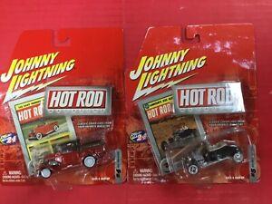 Johnny lightning hot rods 29 ford pickup/27 ford t-roadster