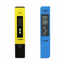 VIVOSUN Digital pH Meter Tester Pen & 3-in-1 TDS EC Temperature Meter Combo