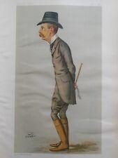 Original Vanity Fair Print; Lord Randolph Churchill - 5th January 1889 (Winston)
