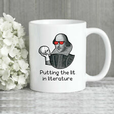 Shakespeare Mug Literature Mug English Teacher Mug Lit In Literature Shakespeare