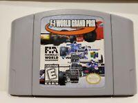 F-1 World Grand Prix II (Nintendo 64, 1999)