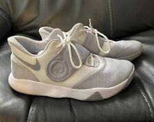 Nike Men's KD Trey 5 VI Basketball Shoes White & Gray Size 10